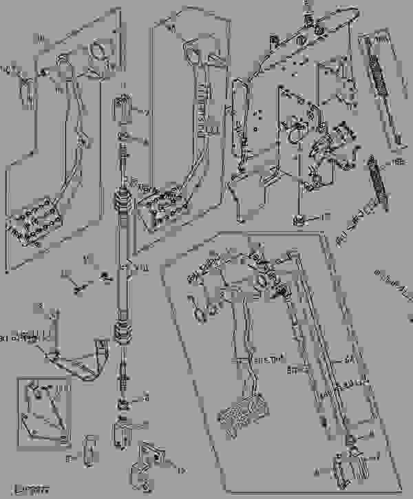 John Deere Pedal Tractor Parts : deere, pedal, tractor, parts, CLUTCH, PEDAL, LINKAGE, (WITH, TRACTOR, Deere, 5210,, 5310,, Tractors, SYNCSHUTTLE™, TRANSMISSION, (TSS), 777parts