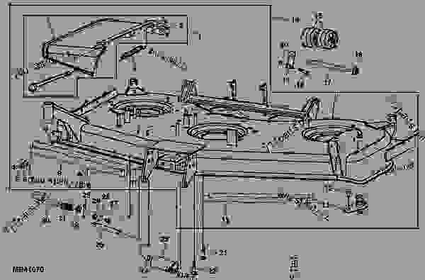 Wiring Diagram: 32 John Deere 62c Mower Deck Belt Diagram