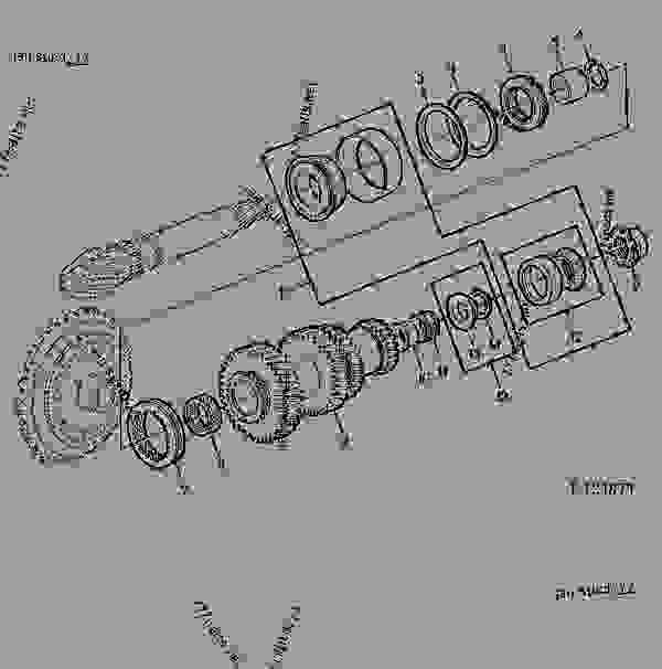 DIFFERENTIAL DRIVE SHAFT/RANGE SHAFT-DIFF.9/46 [02I03