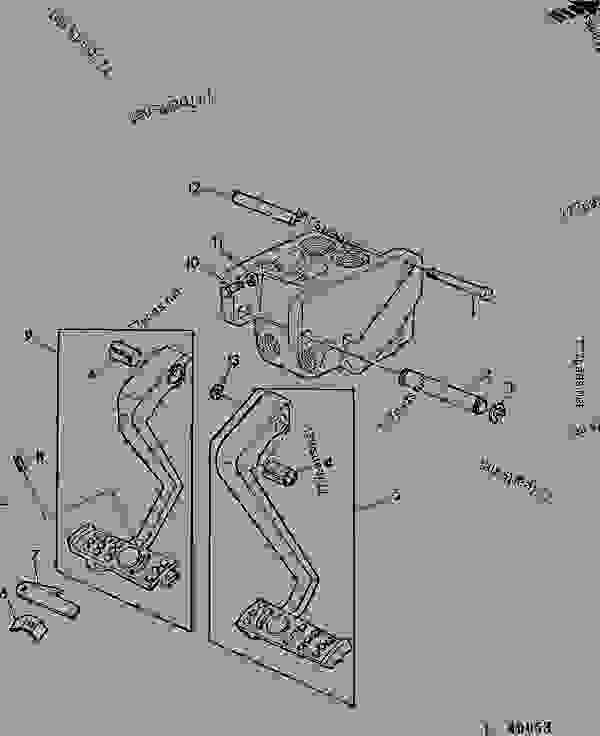John Deere Pedal Tractor Parts : deere, pedal, tractor, parts, BRAKE, PEDAL, (SGB), TRACTOR, Deere, General, Purpose, Tractors, (North, American, Edition), STEERING, BRAKES, [060], 777parts