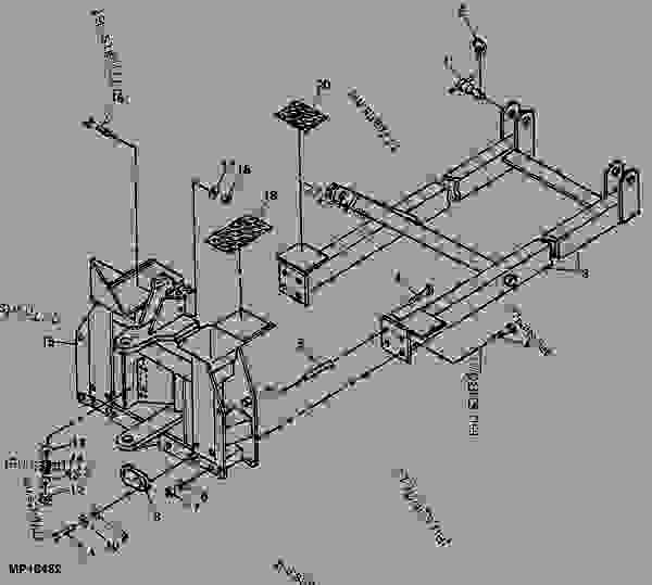 Wiring Diagram For A John Deere 520 Tractor John Deere 520
