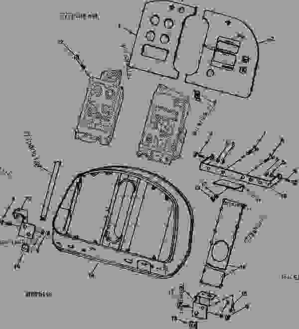 John Deere 4050 Fuse Box. John Deere. Schematic Symbols