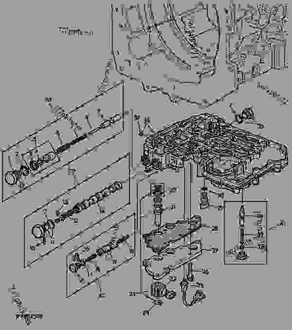 John Deere 8640 Wiring Diagram John Deere 8640 Tractor
