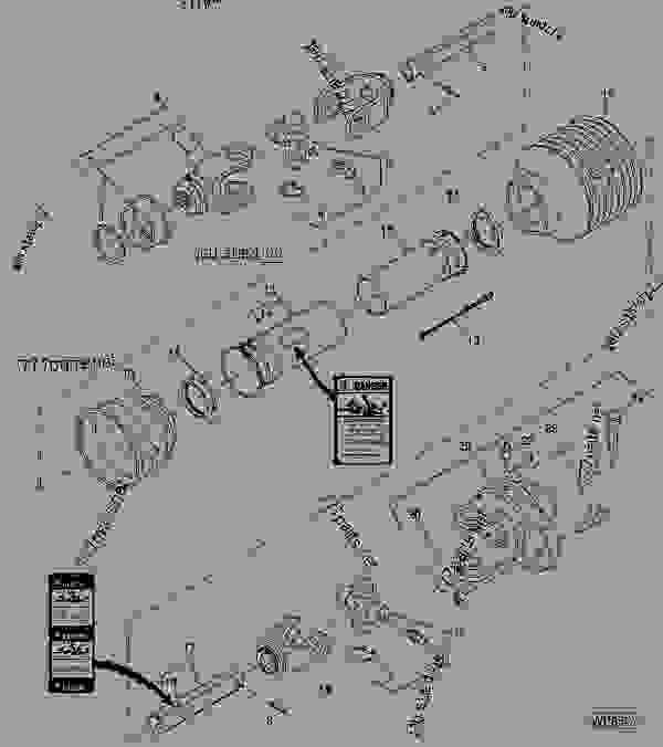DRIVELINE WITH SHEAR BOLT (WALTERSCHEID)(613, 017001