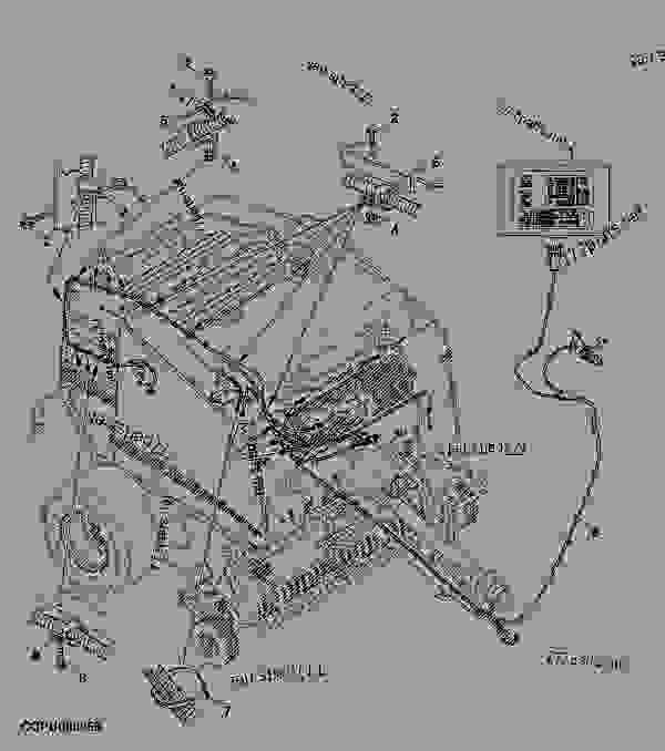 John Deere B Wiring Harness Baletrak And Wiring Harness Baler Round John Deere 568