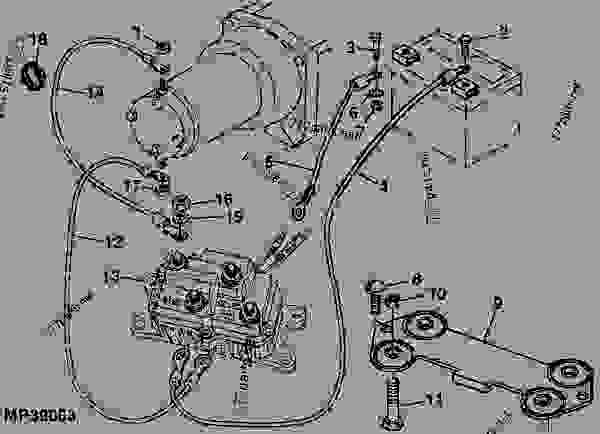 Wiring Diagram Database: John Deere Buck Parts Diagram