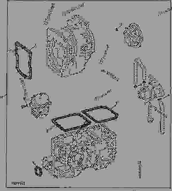 TRANSMISSION GASKET REPAIR KIT (QUAD-RANGE TRANSMISSION