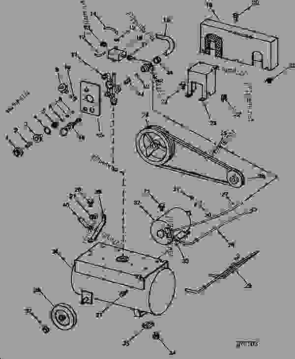 B100 AIR TANK, PRESSURE REGULATOR, BELT AND MOTOR [A12