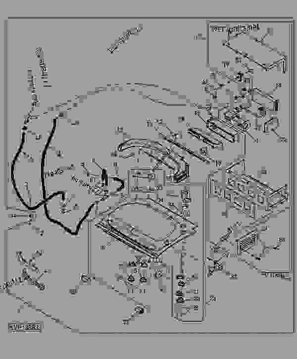 John Deere 250 Skid Steer Parts Diagram