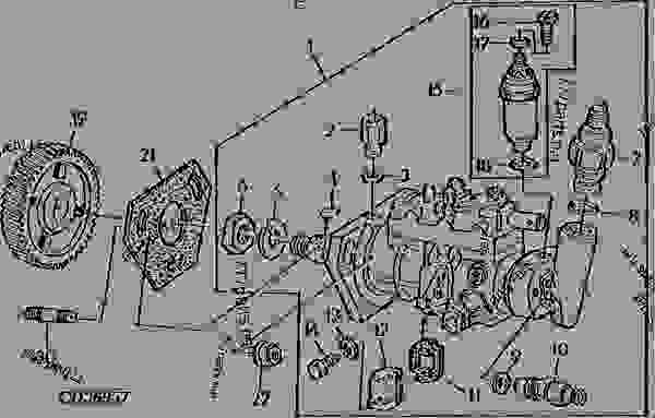 Cav Injector Pump Parts Diagram Within Diagram Wiring And