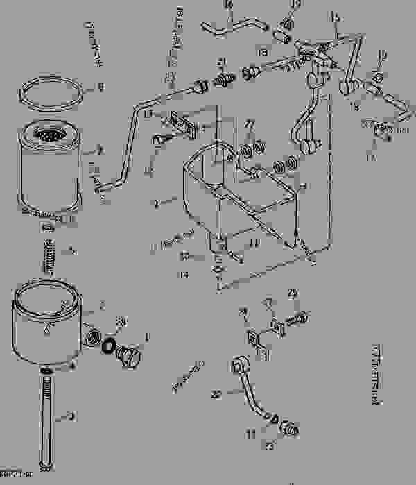 John Deere Backhoe Hydraulics Diagram. John Deere. Wiring