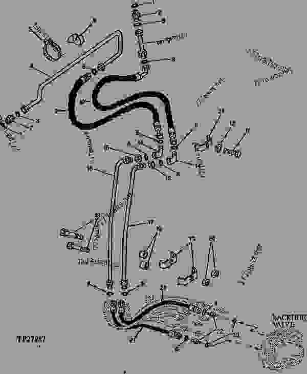 Bucket Cylinder Hydraulics (Standard Dipperstick
