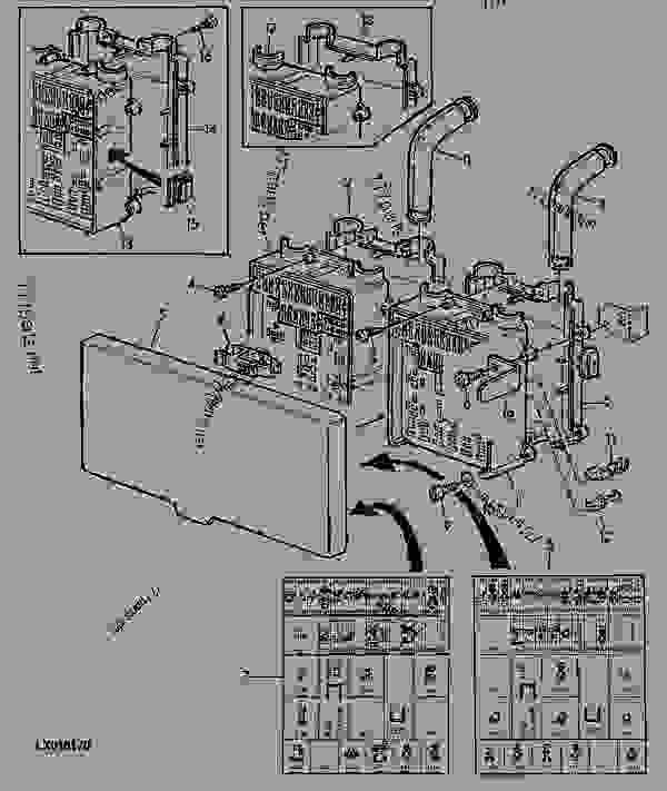 john deere 6300 fuse panel diagram