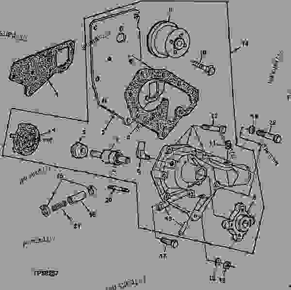 WATER PUMP ASSEMBLY CODE 2022 WATER PUMP, HIGH POSITION