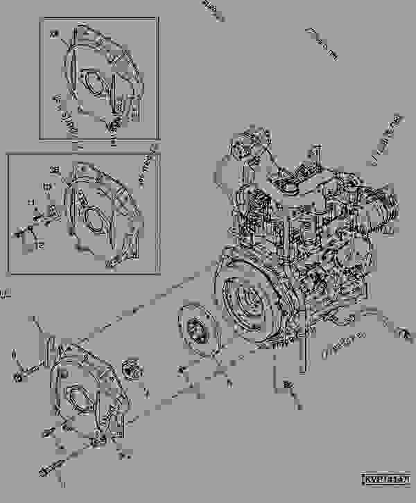 John Deere 40 Engine. John. Tractor Engine And Wiring Diagram