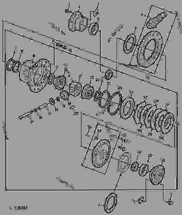 DIFF.CONVERSION PARTS(TO 3 PLAN.PINION POWER SHIFT) [02F05