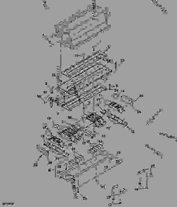 Stationary Single Shoot Manifold (6-Run System Illustrated