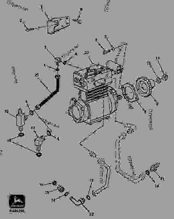 9701 (AIR COMPRESSOR DRIVE KIT (BENDIX) (ESN 742889
