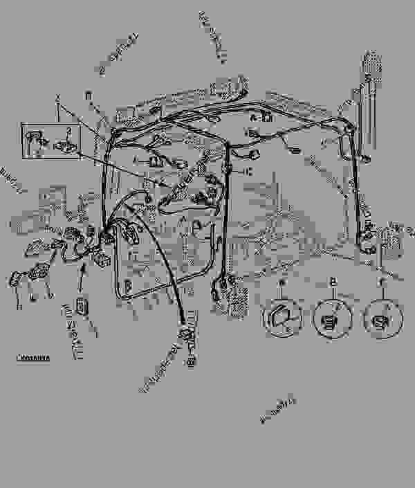 John Deere 2940 Instrument Wiring Harness : 41 Wiring