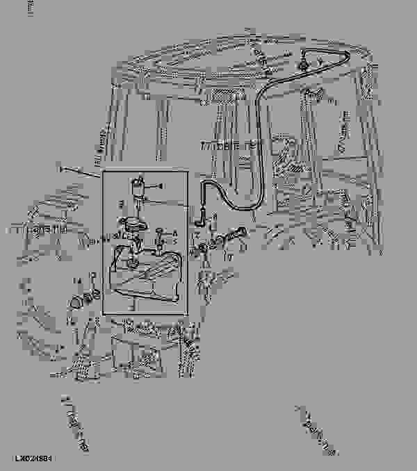 pto wiring diagram for john deere 6400