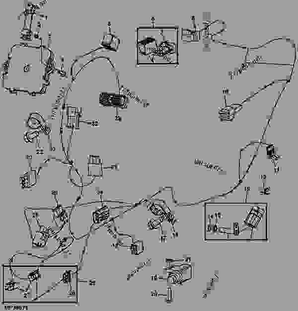 John Deere 3520 Wiring Diagram. John Deere. Wiring