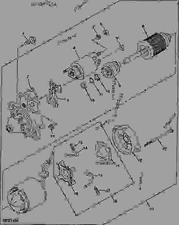 John Deere Gator 4x4 Hpx Ignition Wiring Diagram John