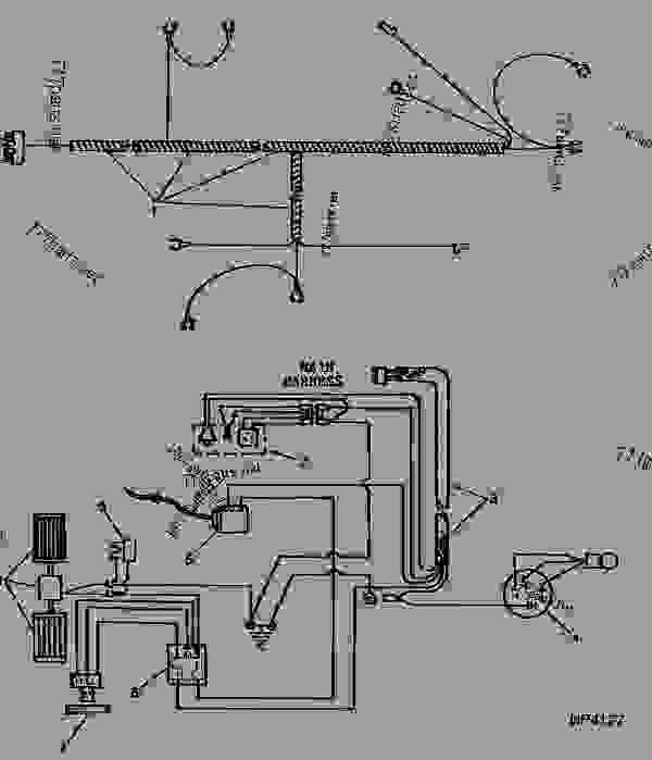 CAB WIRING DIAGRAM 01F18 PICKER COTTON John Deere 9965