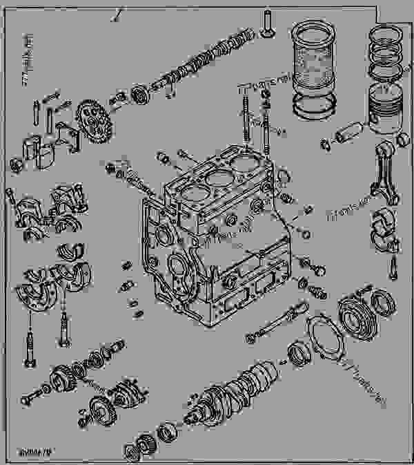 Wiring Harness For 1050 John Deere Tractor John Deere 1010