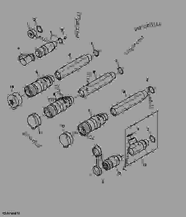 Hydraulic Quick Connect Coupler, With Power Beyond, Hyd