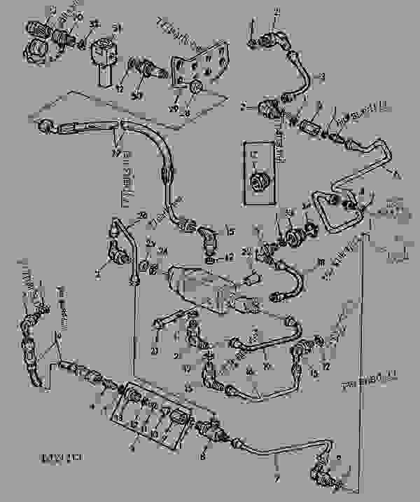 HYDR. TRAILER BRAKE-MANUAL OR POWER STEERING (OLD TYPE