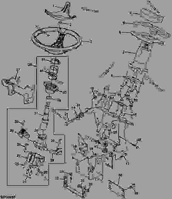 Wiring Diagram For A John Deere 4310 Tractor John Deere