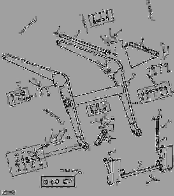 John Deere 2240 Ignition Wiring Diagram John Deere 850