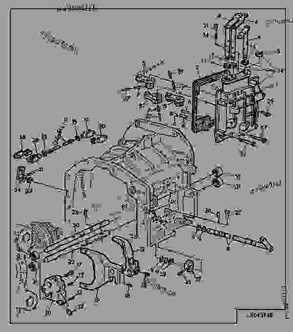 John Deere 6400 Tractor Transmission Diagram, John, Free