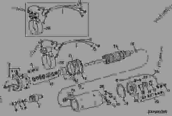 STARTER (24-VOLT) (PRESTOLITE NO. MFY-8001C) (AR45036