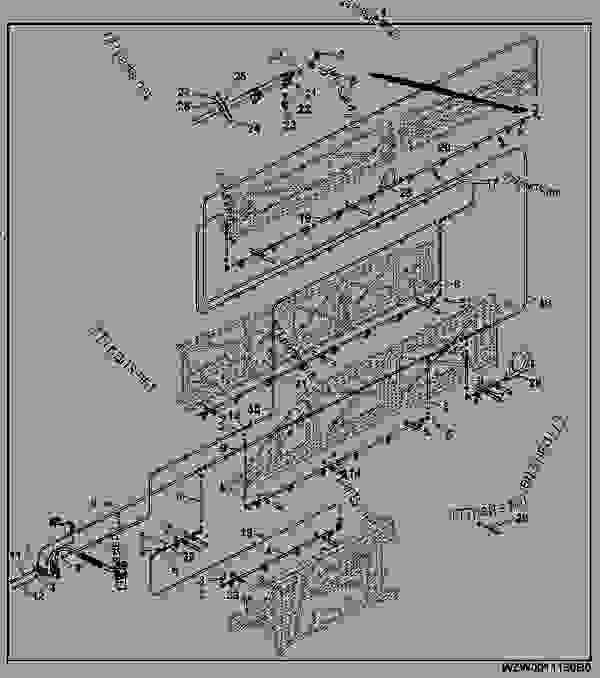 Spray Line Pressure Circulation 3 Part Folding 27x18/7