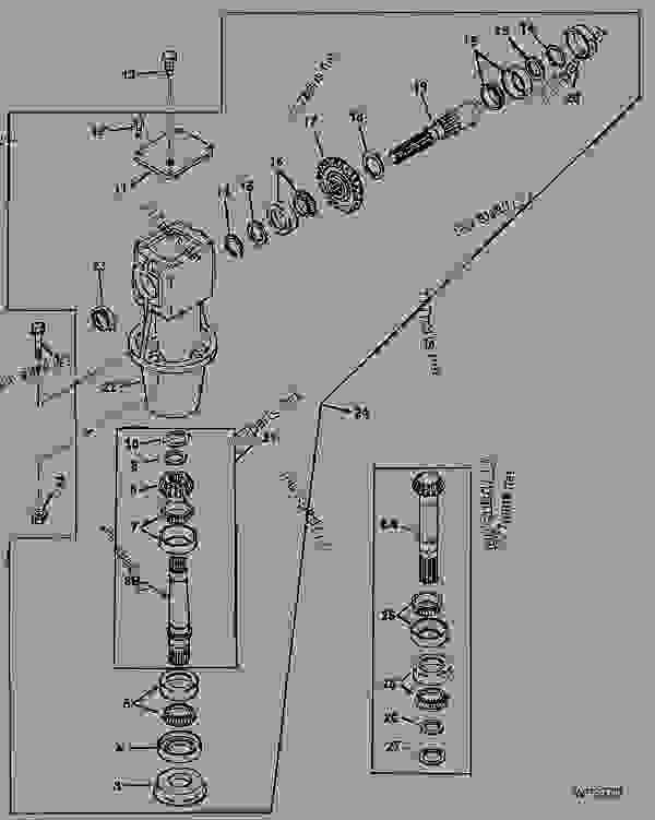 IBERICA GEAR CASE (516 SERIAL NO. 006001- ) (616 SERIAL NO