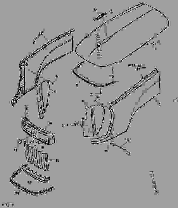 John Deere 322 Wiring Diagram John Deere 180 Wiring