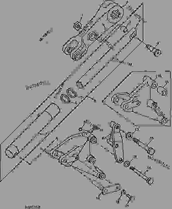 ROCKSHAFT DUAL LIFT ASSIST CYLINDERS (EUROPEAN VERSION