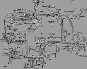 AR47685 Wiring Harness  ar47685  John Deere spare part