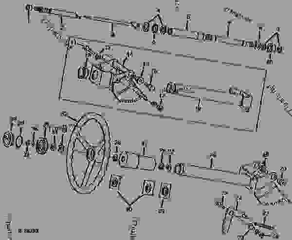 TELESCOPING STEERING (TRACTOR SERIAL NO. 019559- ) [03I22