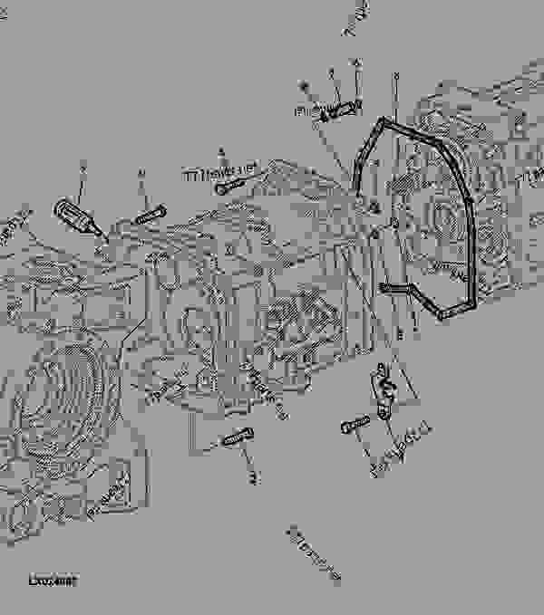 MOUNTING PARTS AUTOPOWR TRANSMISSION (REPAIR STEP 2