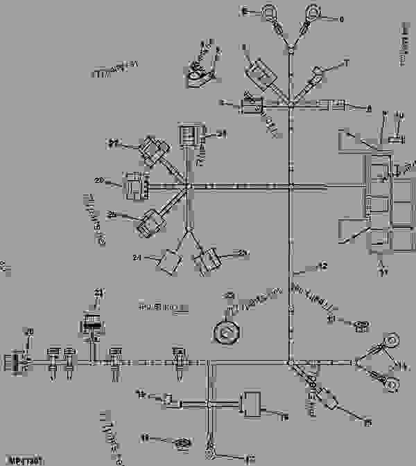 wiring diagram for john deere 3032e tractor