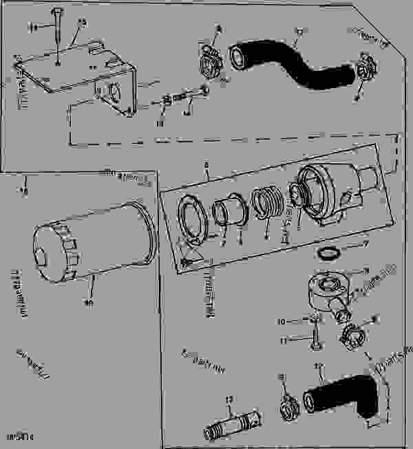 John Deere Hydraulic Filter Location On 850 John Deere