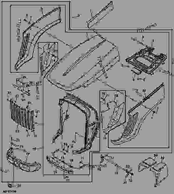John Deere 110 Wiring Schematic. John. Tractor Engine And