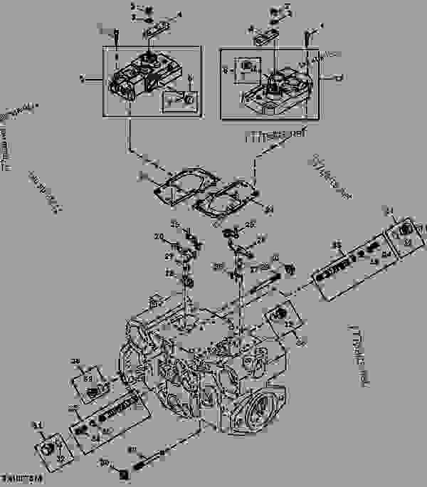 Hydrostatic Pump Control Housing, Solenoid, Spool Kit