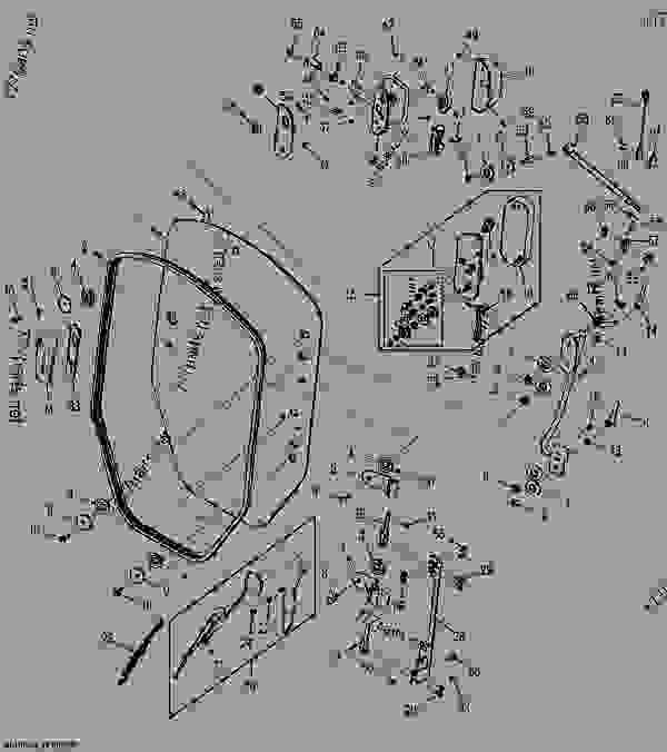 door handle parts diagram wiring outlets in series cab - loader, skid-steer john deere 319d compact track loader ...
