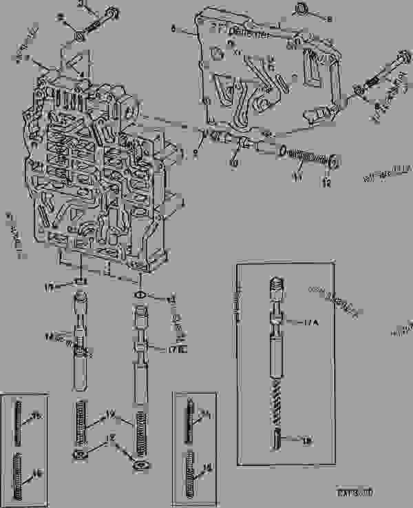 John Deere B Transmission Schematic. John Deere. Wiring
