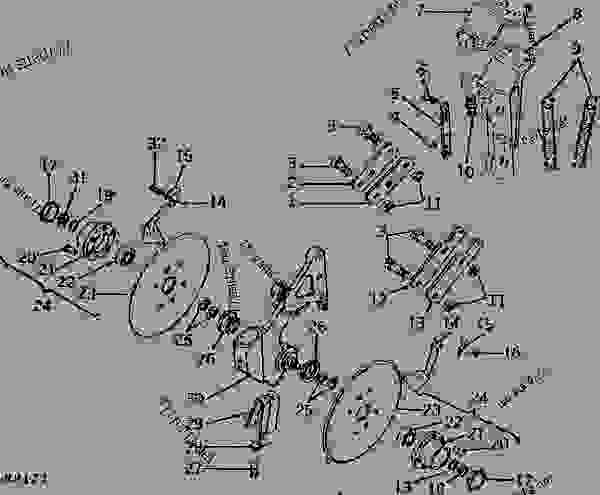 1250 John Deere Tractor Wiring Diagram John Deere 50