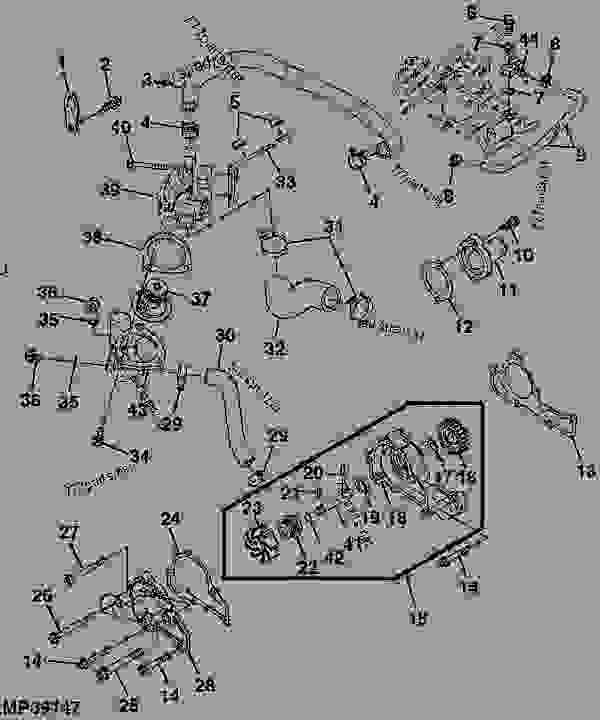 John Deere Gator Thermostat Diagram. John Deere. Wiring