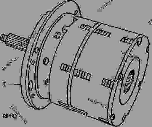 John deere 3020 clutch diagram